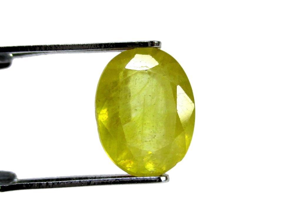 Yellow Sapphire - 3.53 Carat - GFE07005 - Image 2