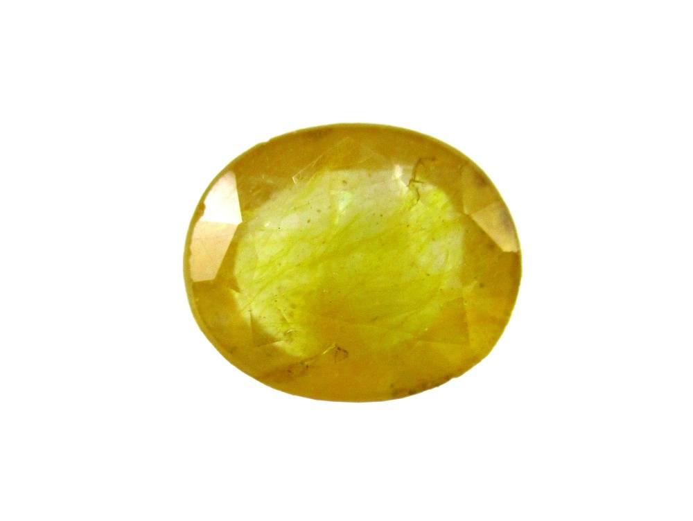 Yellow Sapphire - 3.77 Carat - GFE07006 - Main Image