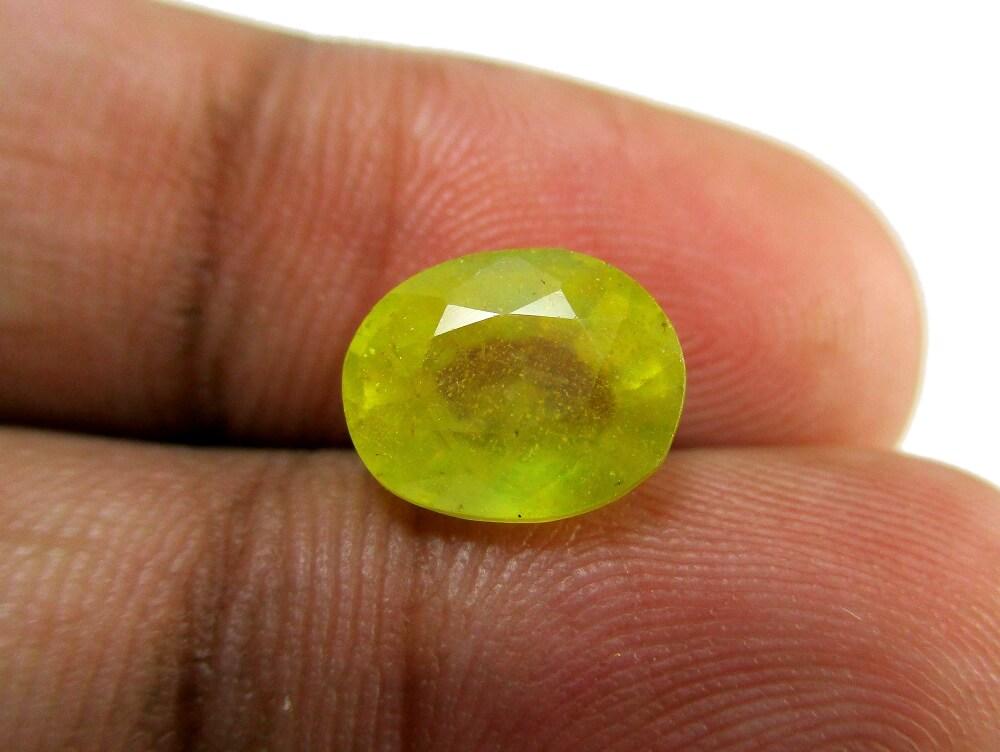 Yellow Sapphire - 3.87 Carat - GFE07008 - Image 3