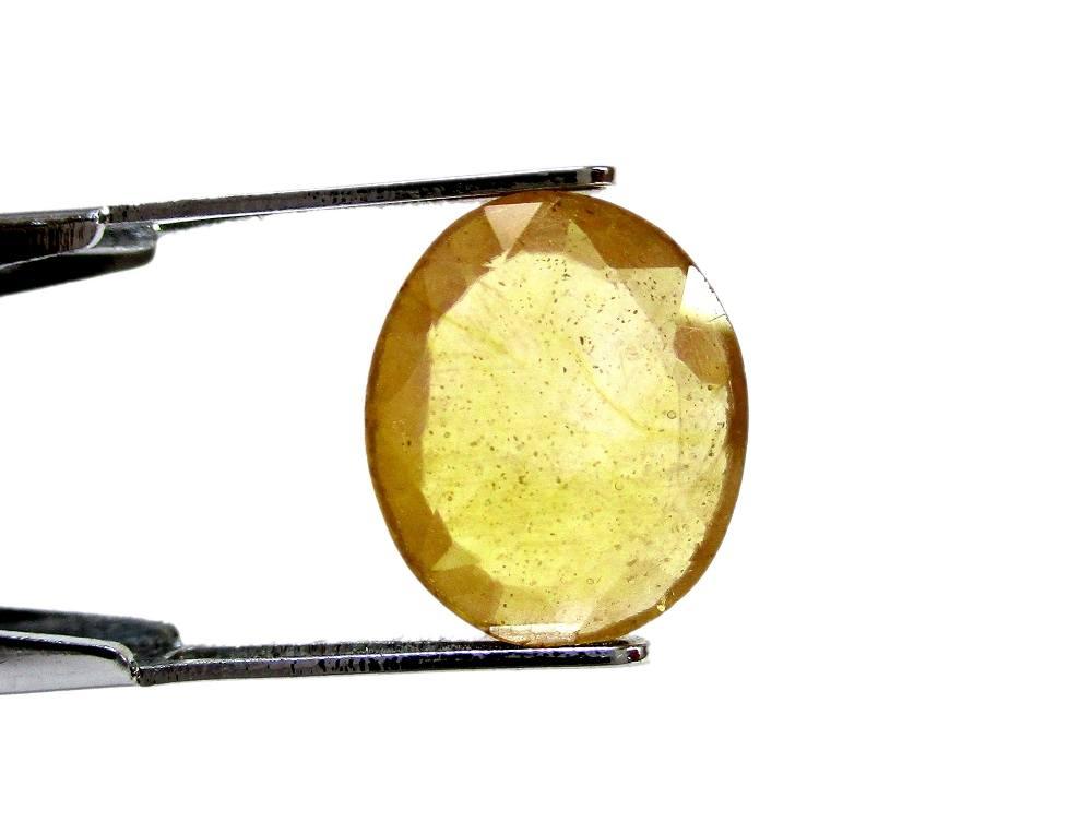 Yellow Sapphire - 4.24 Carat - GFE07010 - Image 2