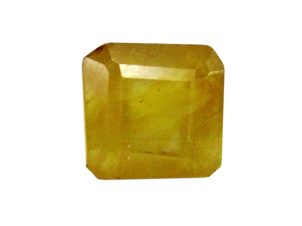 Yellow Sapphire - 4.29 Carat - GFE07020 - Main Image