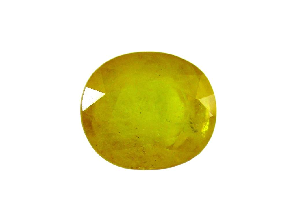 Yellow Sapphire - 6.38 Carat - GFE07024 - Main Image