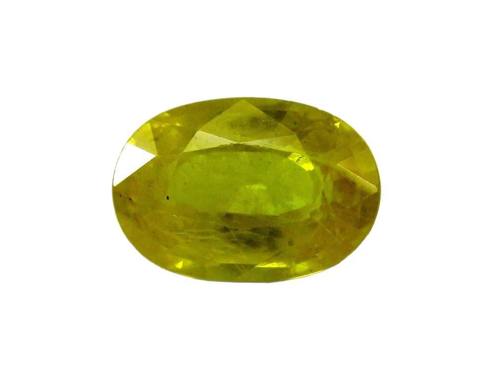 Yellow Sapphire - 3.03 Carat - GFE07036 - Main Image