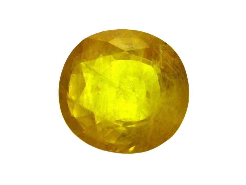 Yellow Sapphire - 6.17 Carat - GFE07039 - Main Image