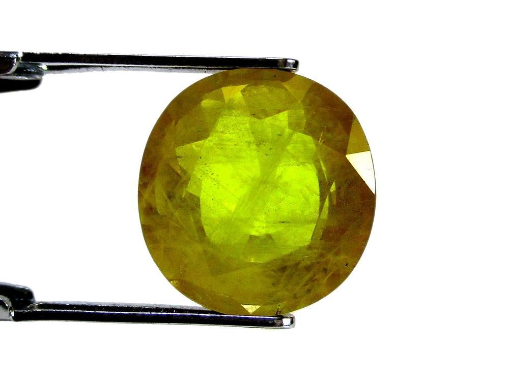 Yellow Sapphire - 6.17 Carat - GFE07039 - Image 2
