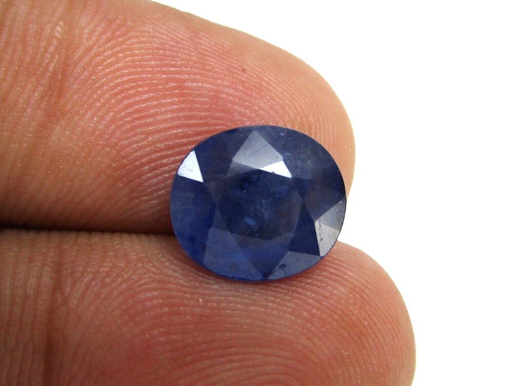 Blue Sapphire - 4.02 Carat - GFE08014 - Image 4