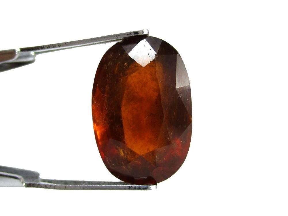 Hessonite Garnet - 6.58 Carat - GFE09038 - Image 2
