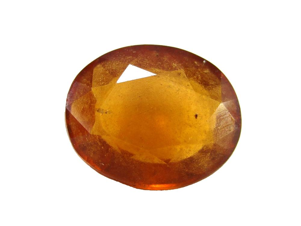 Hessonite Garnet - 6.76 Carat - GFE09039 - Main Image