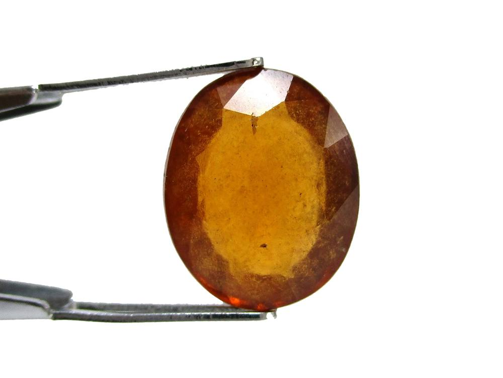 Hessonite Garnet - 6.76 Carat - GFE09039 - Image 2