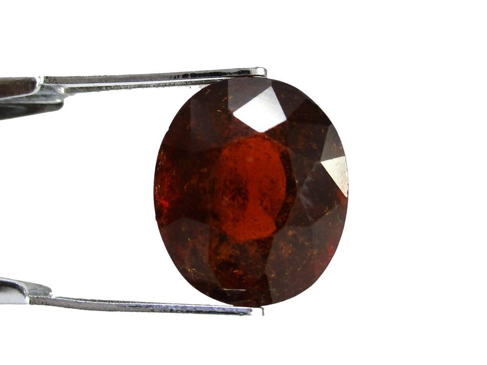 Hessonite Garnet - 6.77 Carat - GFE09040 - Image 2