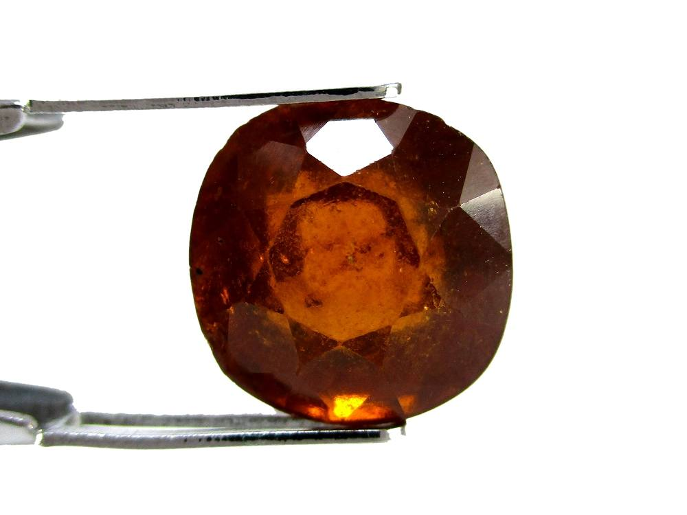 Hessonite Garnet - 7.70 Carat - GFE09066 - Image 2