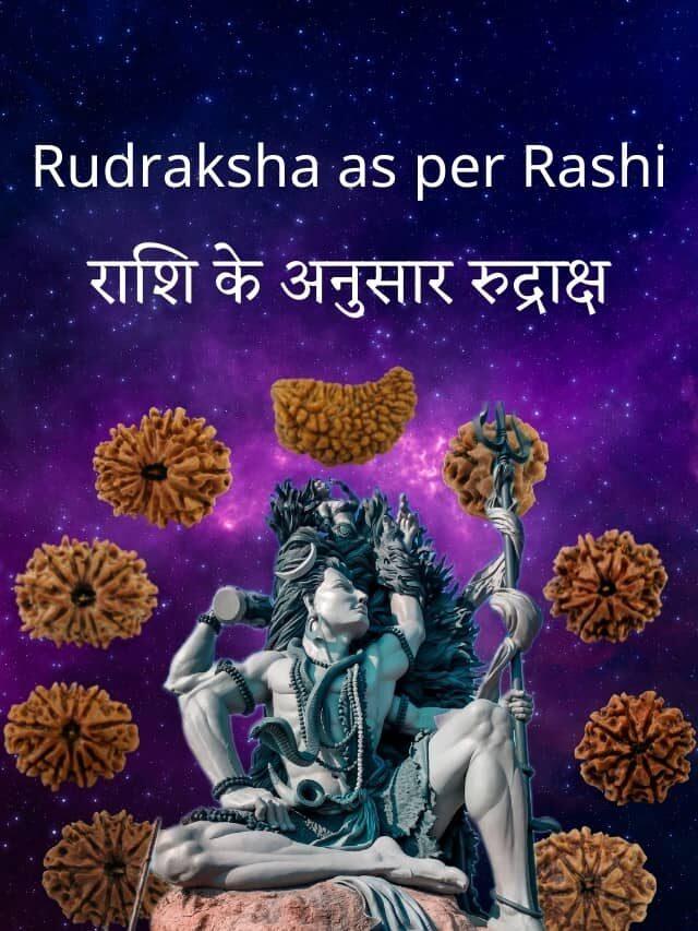 Rudraksha as Per Rashi – राशि के अनुसार रुद्राक्ष